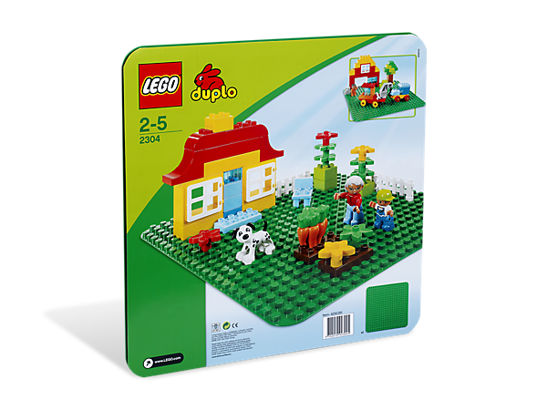 "<span style=""color: red;"">We apologize for any inconvenience as this item is currently out of stock. Our regular Green Baseplate (item 10700) is available and works with DUPLO® bricks as well.</span>"
