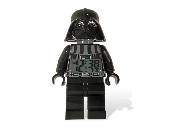 lego star wars darth vader minifigure clock 2856081. Black Bedroom Furniture Sets. Home Design Ideas