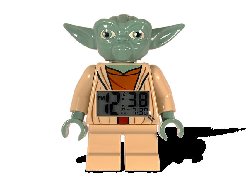 Lego® Star Wars  Yoda Minifigure Clock