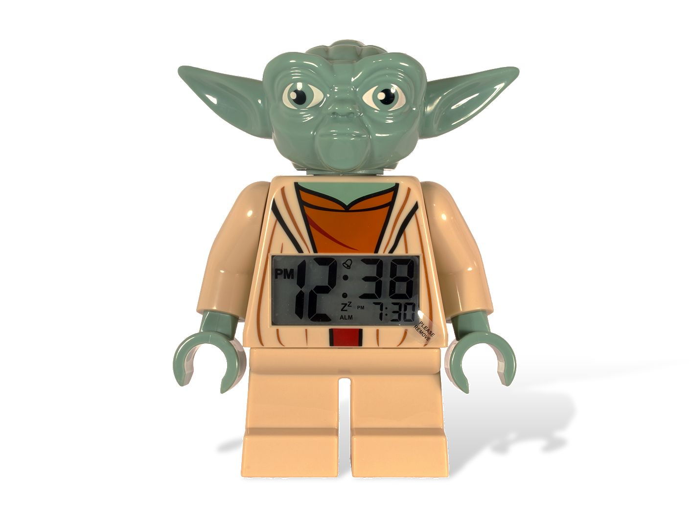 LEGO® <i>Star Wars</i>™ Yoda Minifigure Clock