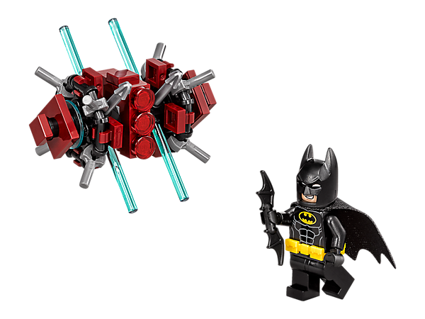 Role-play a face-off between Batman™ and a Phantom Zone guardian. Includes a Batman minifigure with a Batarang weapon.