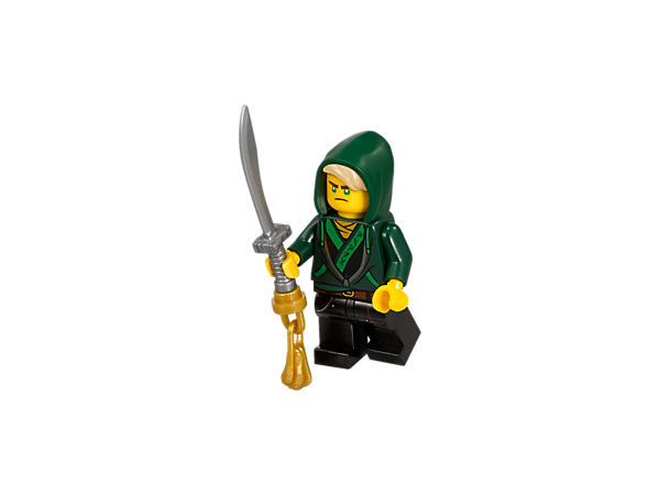 <p>Exclusive LEGO® NINJAGO® Lloyd Minifigure (30609)</p>