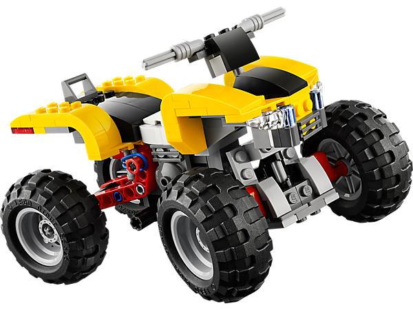 Explore product details and fan reviews for buildable toy Turbo Quad 31022 from Creator. Buy today with The Official LEGO® Shop Guarantee.