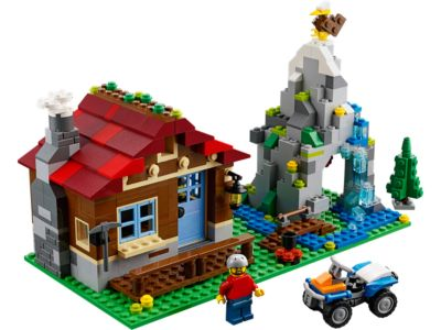 Explore product details and fan reviews for buildable toy Mountain Hut 31025 from Creator. Buy today with The Official LEGO® Shop Guarantee.