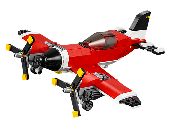 Explore product details and fan reviews for Propeller Plane 31047 from Creator. Buy today with The Official LEGO® Shop Guarantee.