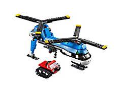 L'hélicoptère à double rotor