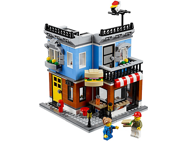 Explore product details and fan reviews for Corner Deli 31050 from Creator. Buy today with The Official LEGO® Shop Guarantee.