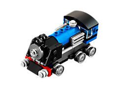 Le train express bleu