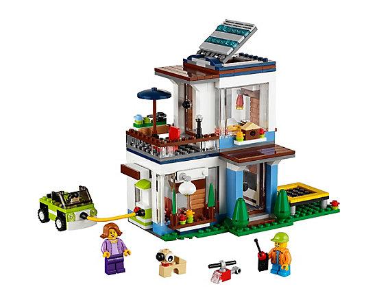Modular Modern Home 31068 Creator 3 In 1 Lego Shop