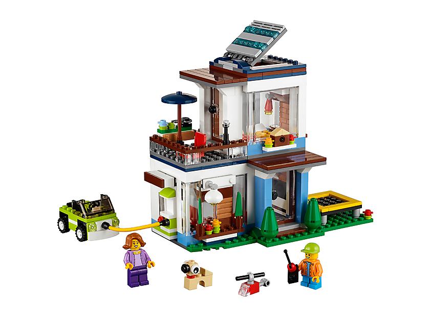 Lego Modular Modern Home