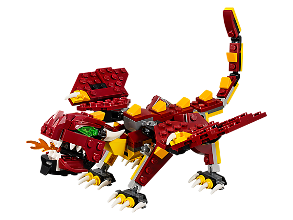 Mythical Creatures 31073 Creator 3 In 1 Lego Shop