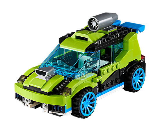 rocket rally car 31074 creator 3 in 1 lego shop. Black Bedroom Furniture Sets. Home Design Ideas