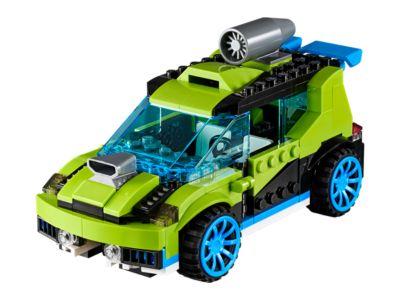 La voiture de rallye