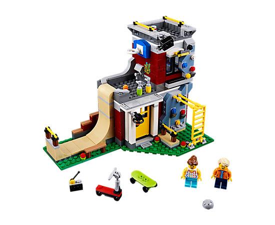 modular skate house 31081 lego creator 3 in 1 lego shop. Black Bedroom Furniture Sets. Home Design Ideas