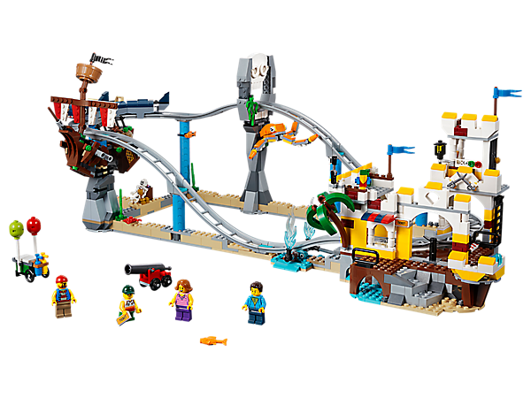 Pirate Roller Coaster 31084 Creator 3 In 1 Lego Shop