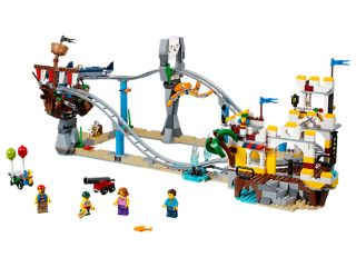 Pirate Roller Coaster