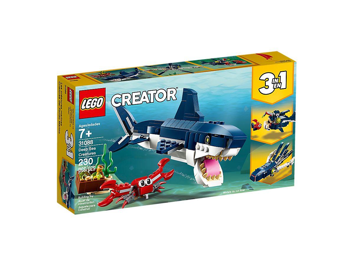 fee6d6fddca Deep Sea Creatures 31088 | Creator 3-in-1 | Buy online at the Official LEGO®  Shop CA