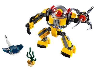 Underwater Robot 31090 | Creator 3-in-1 | Buy online at the Official LEGO®  Shop US