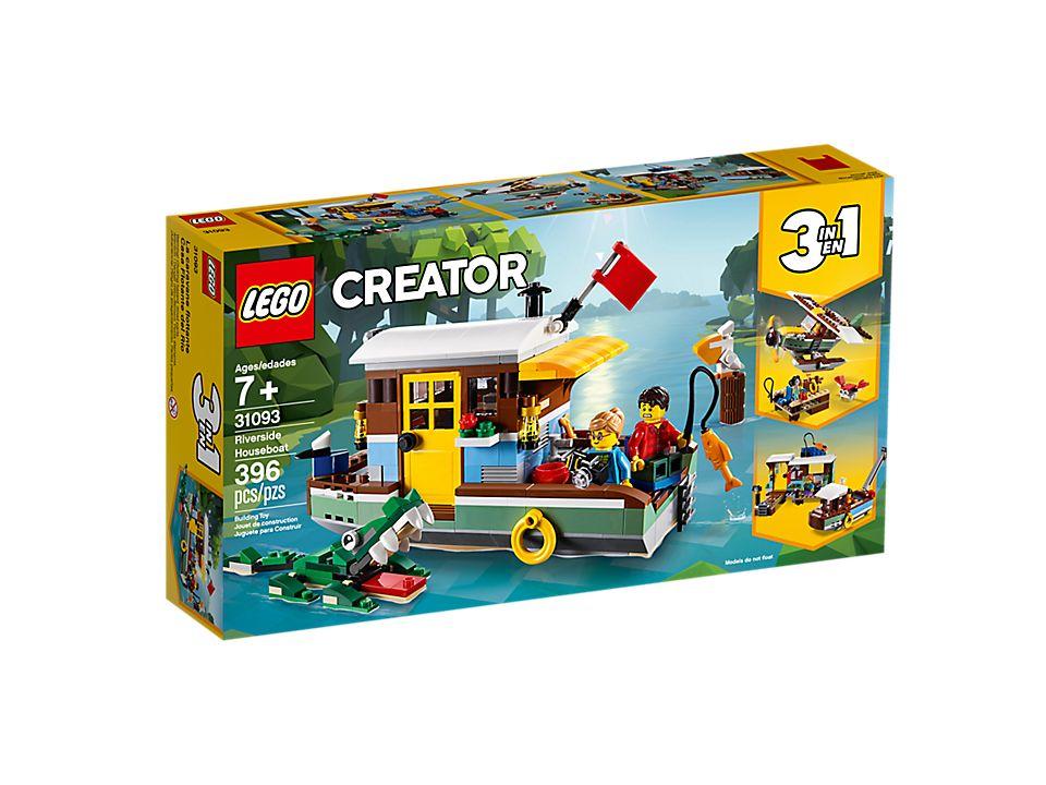 6b089623d04 Riverside Houseboat - 31093 | Creator 3-in-1 | LEGO Shop