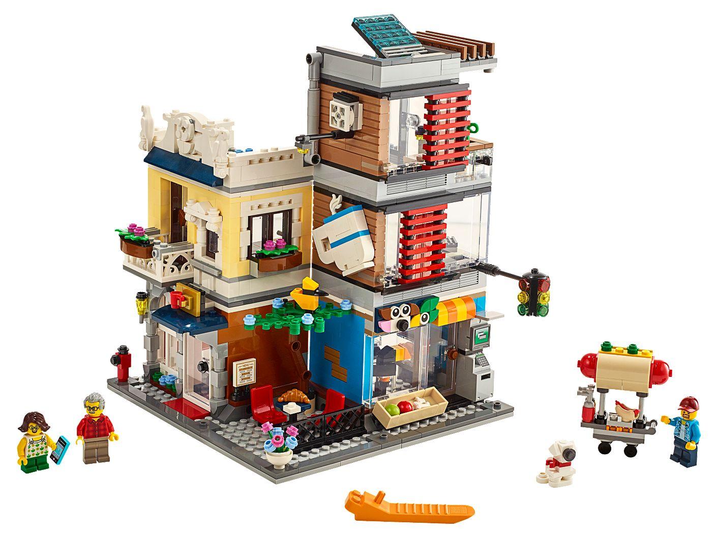 Ongekend Woonhuis, dierenwinkel & café 31097 | Creator 3-in-1 | Officiële EO-14