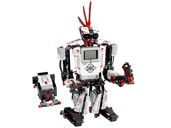 Create and command amazing LEGO® MINDSTORMS® EV3 robots with touch sensor, colour sensor, infrared sensor and 550+ LEGO Technic elements.