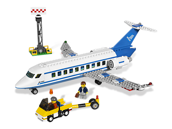 Strap into your seat and prepare to take off for high-flying fun in the big, stylish LEGO® City Passenger Plane, includes repair tow truck!