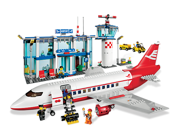 You're cleared for fun and adventure at the award-winning LEGO® City Airport, includes jet plane, flight terminal, control tower and more!