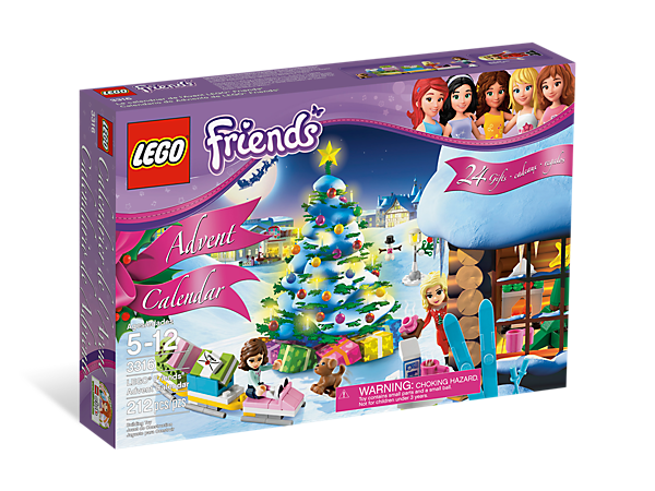 Start the countdown to Christmas in Heartlake City with the LEGO® Friends Advent Calendar, features 24 holiday surprises and exclusive elements!