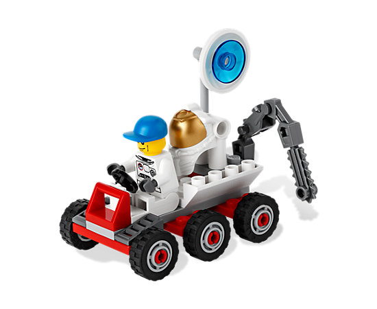 Lego Space Moon Buggy 3365 Instructions