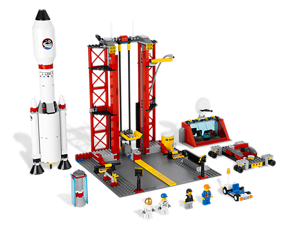 Start the countdown to out-of-this-world fun as you send a super crew of 4 LEGO® City space explorers on an exciting mission to Mars!