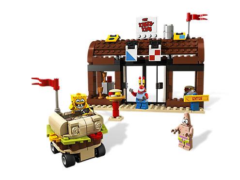 Krusty Krab Adventures 3833 Lego Shop
