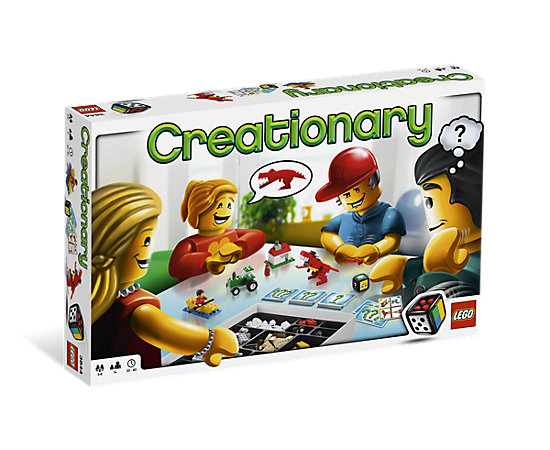 Creationary 3844 Lego Shop