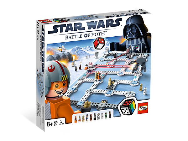 <p>Battle on the ice planet and defend the secret base as you compete against your friends in a buildable LEGO® <i>Star Wars</i>™ game!</p>