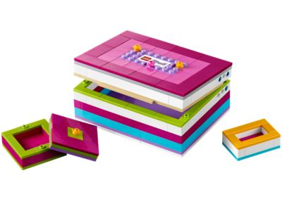 Explore product details and fan reviews for buildable toy LEGO® Friends Buildable Jewelry Box 40114 from Friends. Buy today with The Official LEGO® Shop Guarantee.
