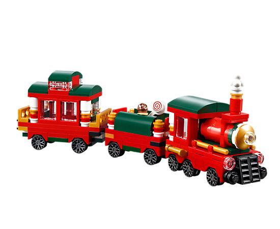 Christmas Train - 40138 | LEGO Shop