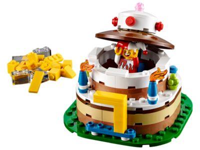 LEGOR Kultige Geburtstagstischdekoration