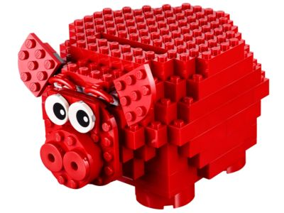 lego coin bank instructions