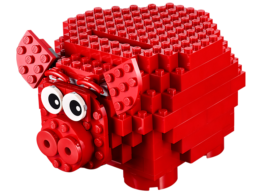 Lego Piggy Coin Bank
