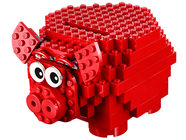 Explore product details and fan reviews for LEGO® Iconic Piggy Coin Bank 40155 from LEGO Iconic. Buy today with The Official LEGO® Shop Guarantee.