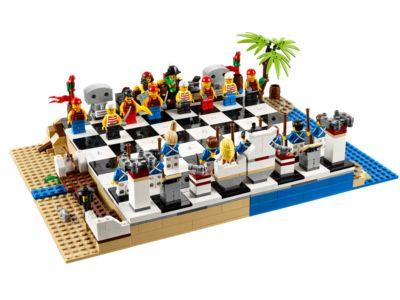 LEGO® Pirates Chess Set - 40158 | Pirates | LEGO Shop