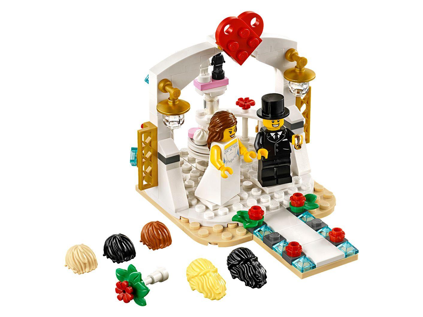 *NEW* Lego CHRISTMAS ORNAMENT WEDDING 2019 Minifig BRIDE /& GROOM
