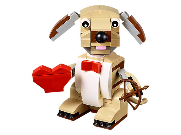 Explore product details and fan reviews for LEGO® Valentine's Cupid Dog 40201 from Seasonals. Buy today with The Official LEGO® Shop Guarantee.