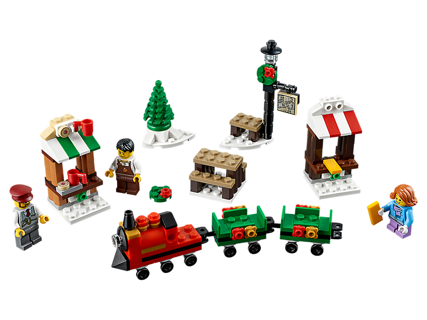 LEGO® Christmas Train Ride