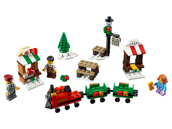 Decorations De Noel En Lego