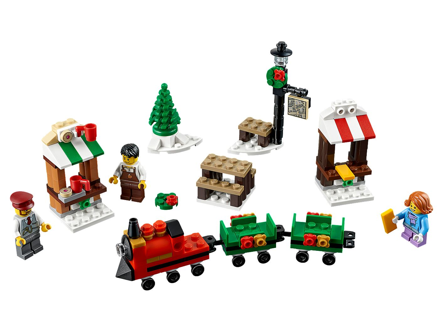 Christmas Train.Lego Christmas Train Ride 40262 Unknown Buy Online At The Official Lego Shop Us