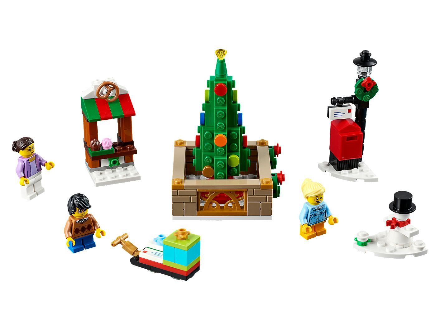 Lego Christmas.Lego Christmas Town Square 40263 Unknown Buy Online At The Official Lego Shop Ca