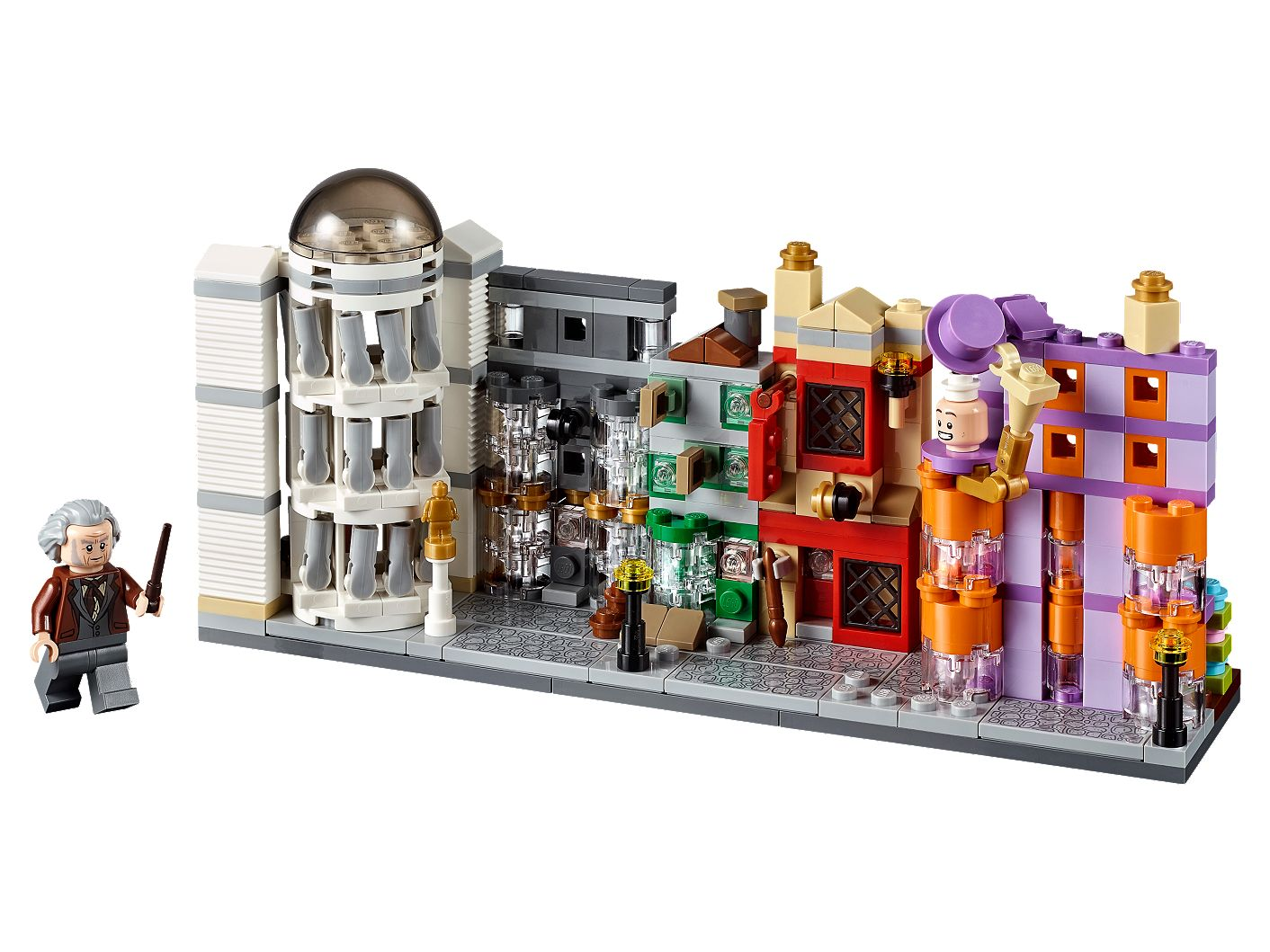 Diagon Alley 40289 Harry Potter Buy Online At The Official Lego Shop Fr