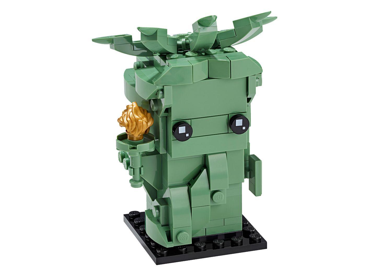 Vrijheidsbeeld Van Lego.Lady Liberty 40367 Brickheadz Officiele Lego Winkel Nl