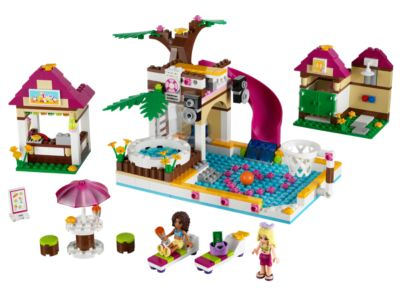 Heartlake City Pool - 41008 | Friends | LEGO Shop