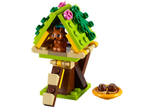 Squirrels Tree House 41017 Friends Lego Shop